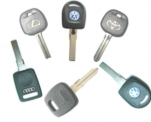 Automotive chip key