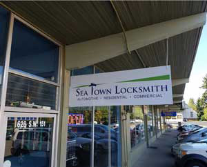 Seatown Locksmith Store Front
